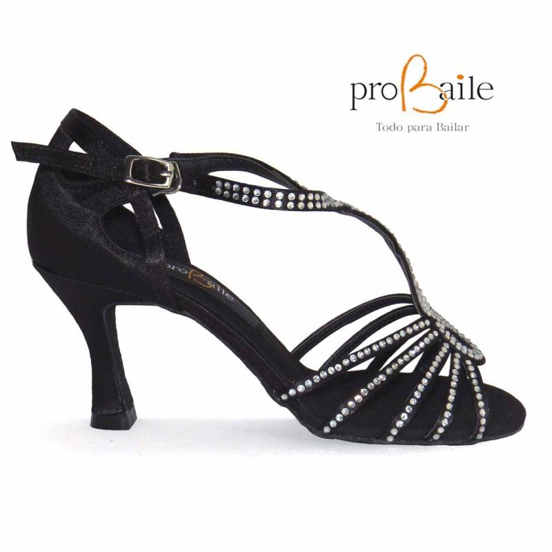 Con Profesionales Latino De Baile Pedrería Zapatos MpUSqGzV