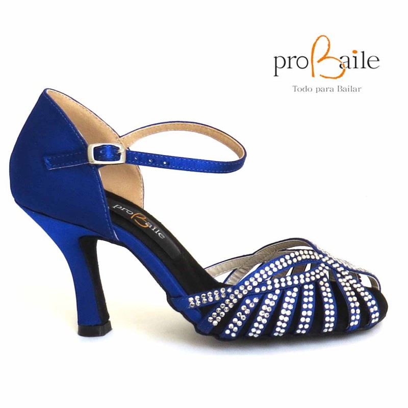 diseño atemporal bbf03 f9b8a Zapatos de Baile Sensual Blue