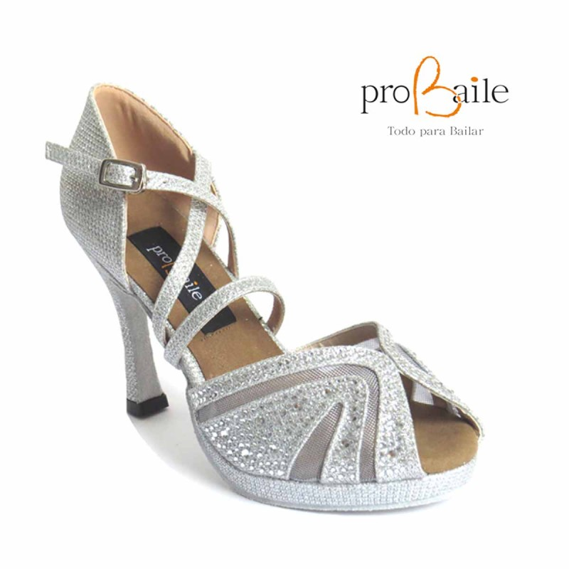 f886f16c28 Zapatos de baile con plataforma. Zapatos de salsa plataforma flexible