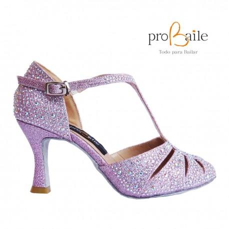 Zapatos de baile rosas