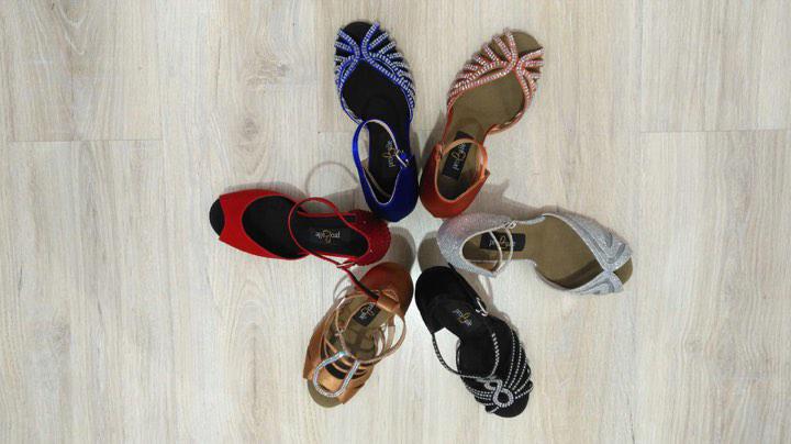 Tipos de zapatos de baile