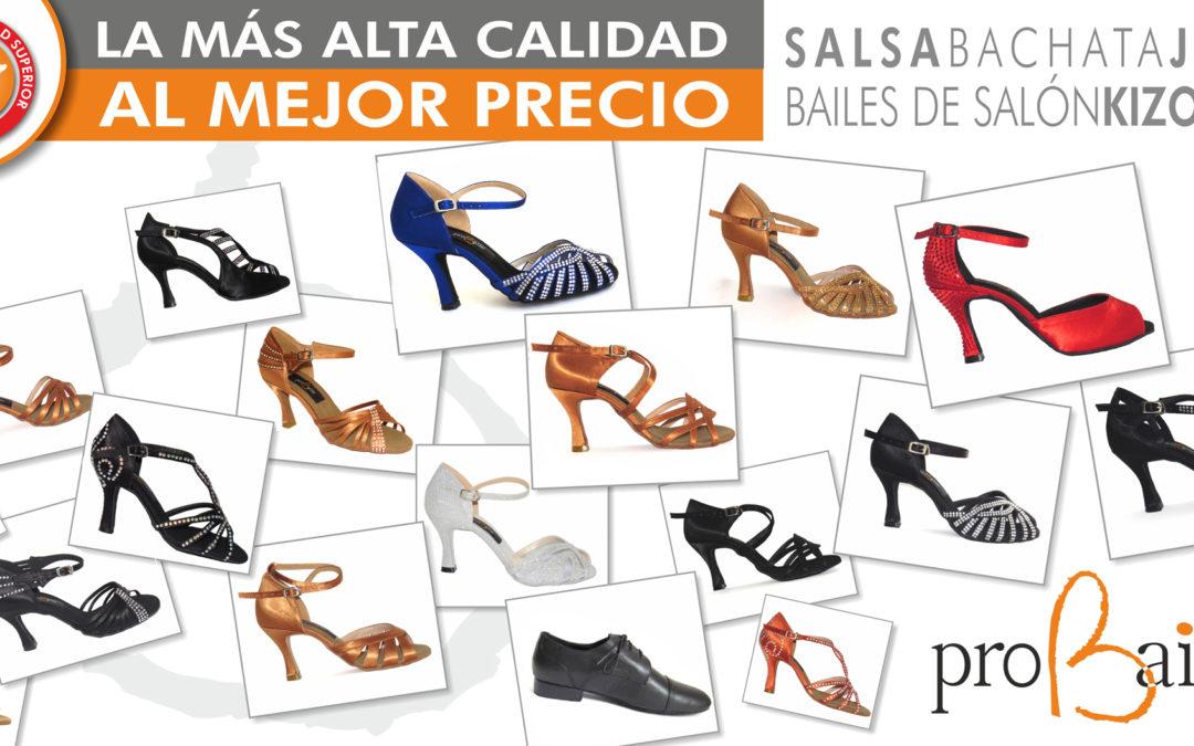 Zapatos para bailes latinos