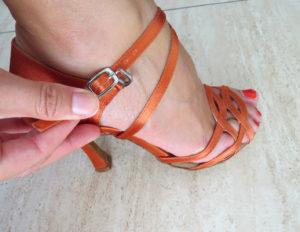 ajuste tobillo zapatos de baile