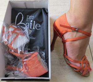 estreno zapatos de baile