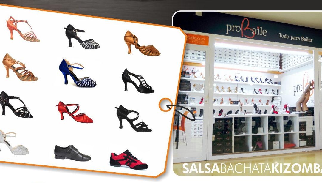 Tienda física de zapatos de baile o compra online