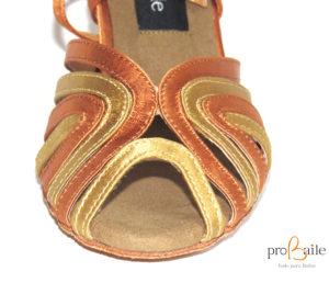 antepie zapatos baile latino