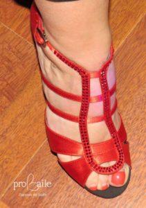 zapato de baile benidorm