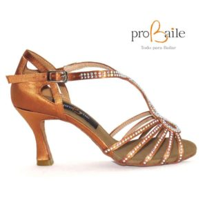 zapatos de baile tiras finas