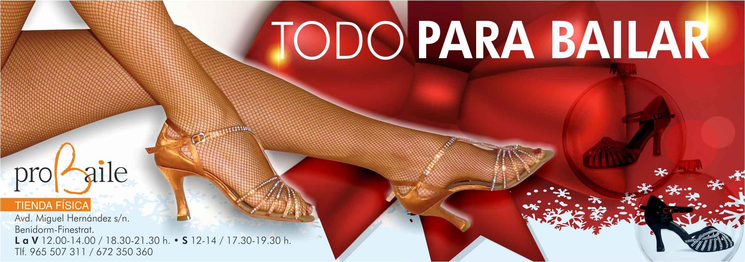 regalo zapatos baile navidad