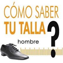 Elegir talla zapatos de baile